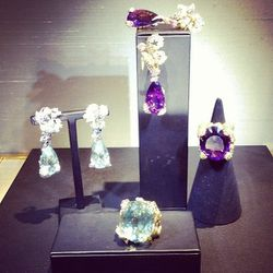 Big and bold pieces remind Castellane of playing dress-up with her mother's jewelry as a child.