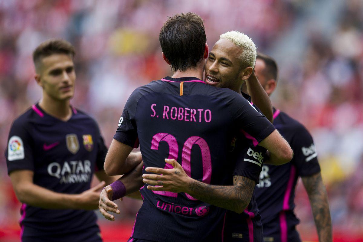 Real Sporting de Gijon v FC Barcelona - La Liga