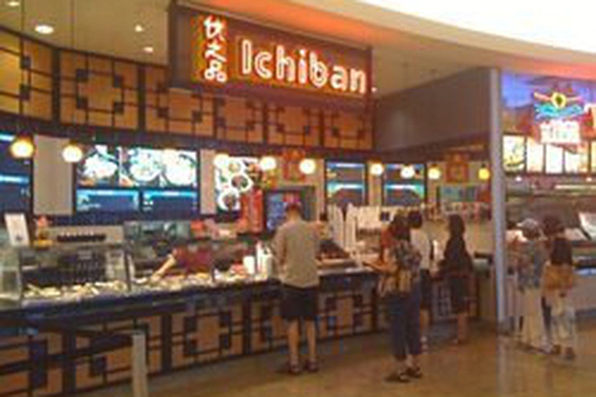 Ichiban The Sushi Restaurant In Food Court At Fashion Show Mall Was Shut Down By Southern Nevada Health District After A Re Inspection On July 29