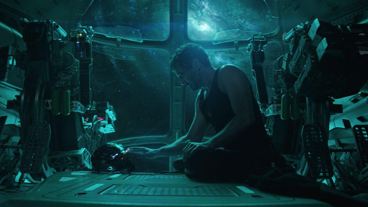 """Tony Stark/Iron Man (Robert Downey Jr.) in """"Avengers: Endgame."""""""