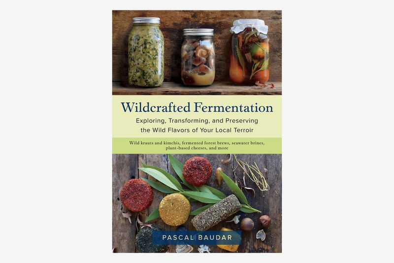 A book titled Wildcrafted Fermentation