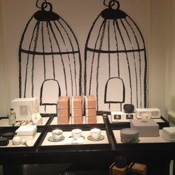 A selection of home goods, including candles by Joya