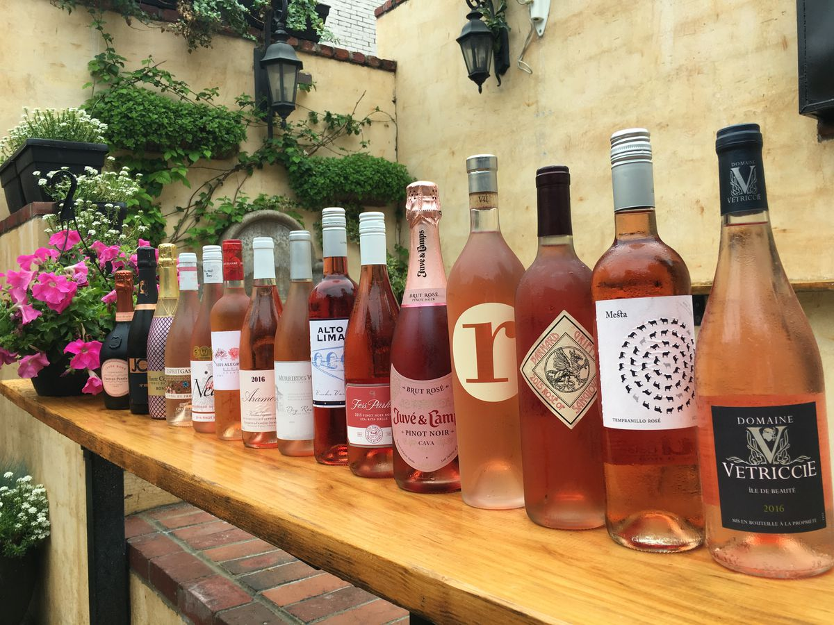 "Vinoteca's ""Rose All May"" lineup"