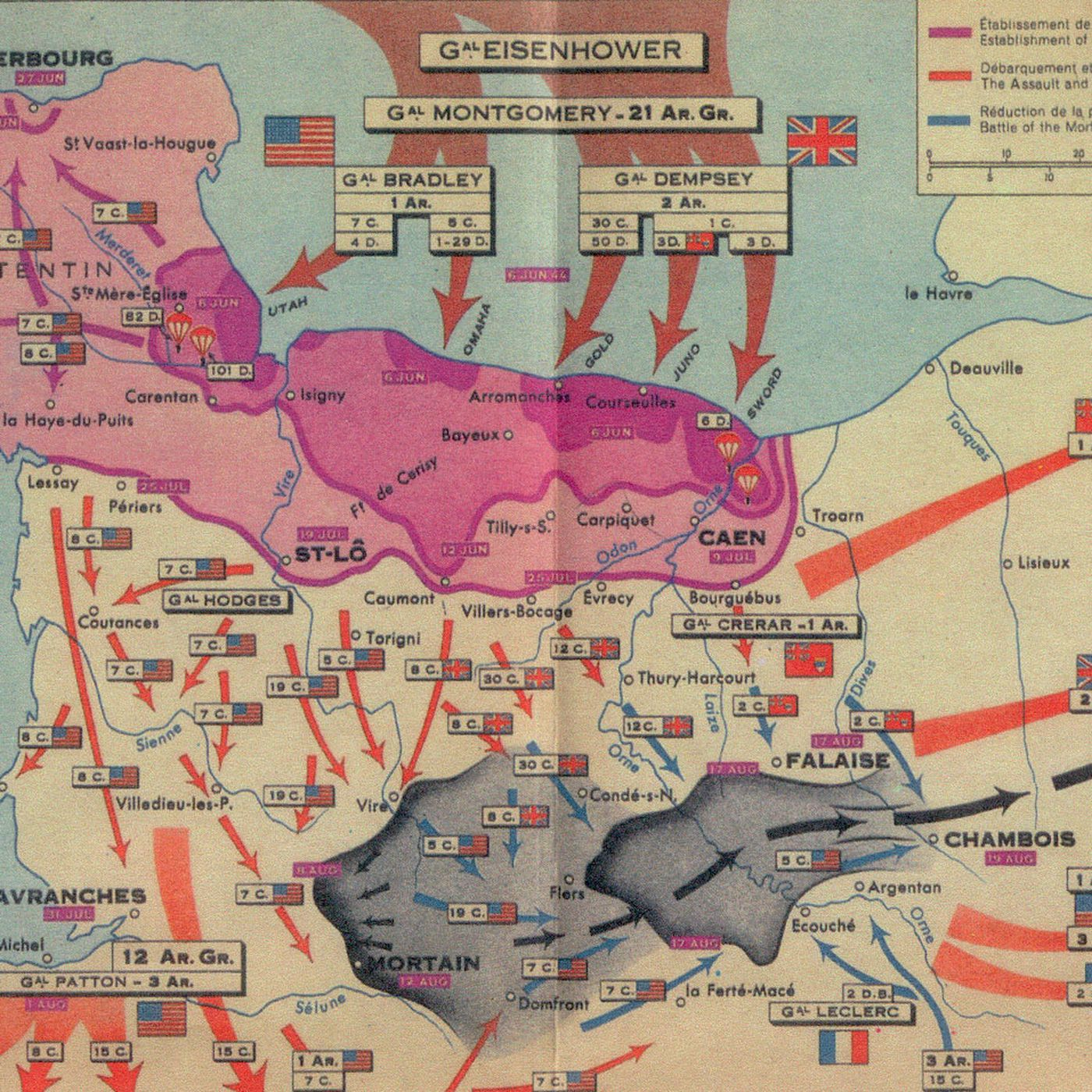 The story of d day in five maps vox gumiabroncs Images