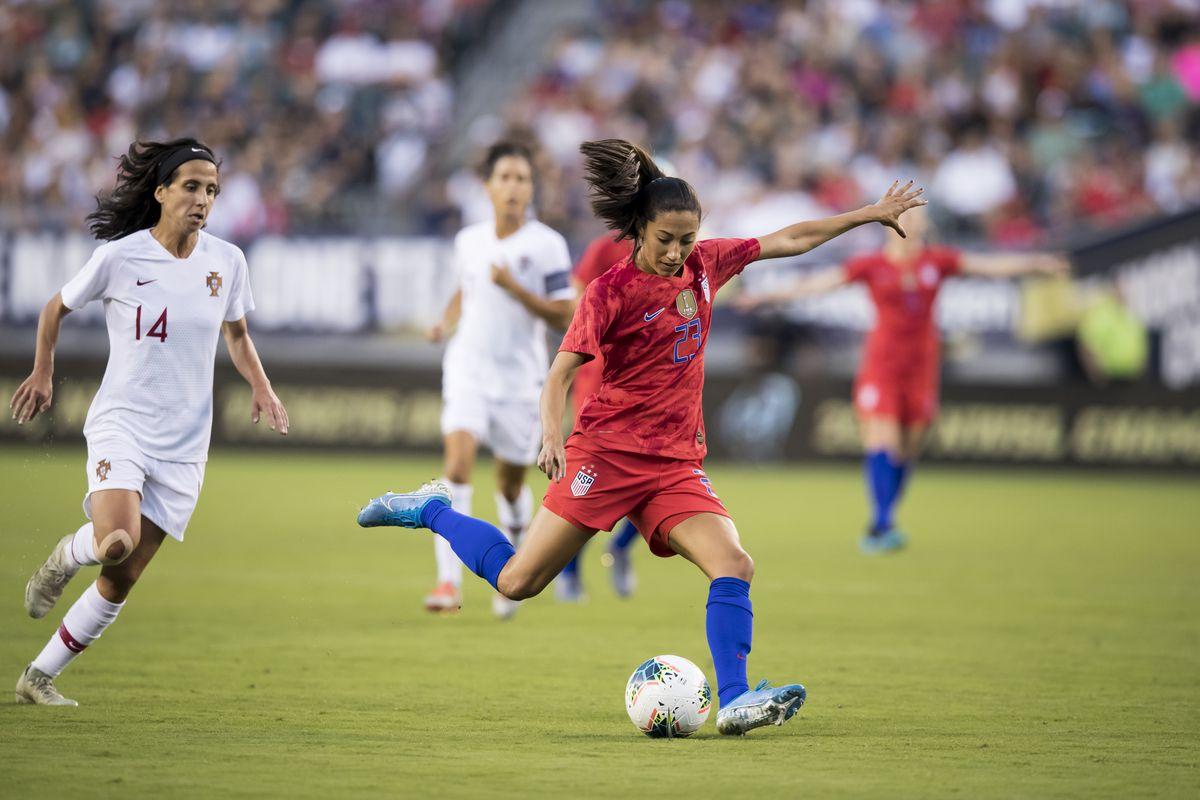 U.S. Women's National Team v Portugal: Victory Tour