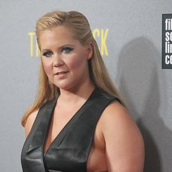 Amy Schumer at the New York premiere of <i>Trainwreck</i>.