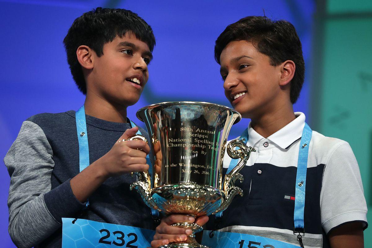 Children Compete In Annual E.W. Scripps Spelling Bee