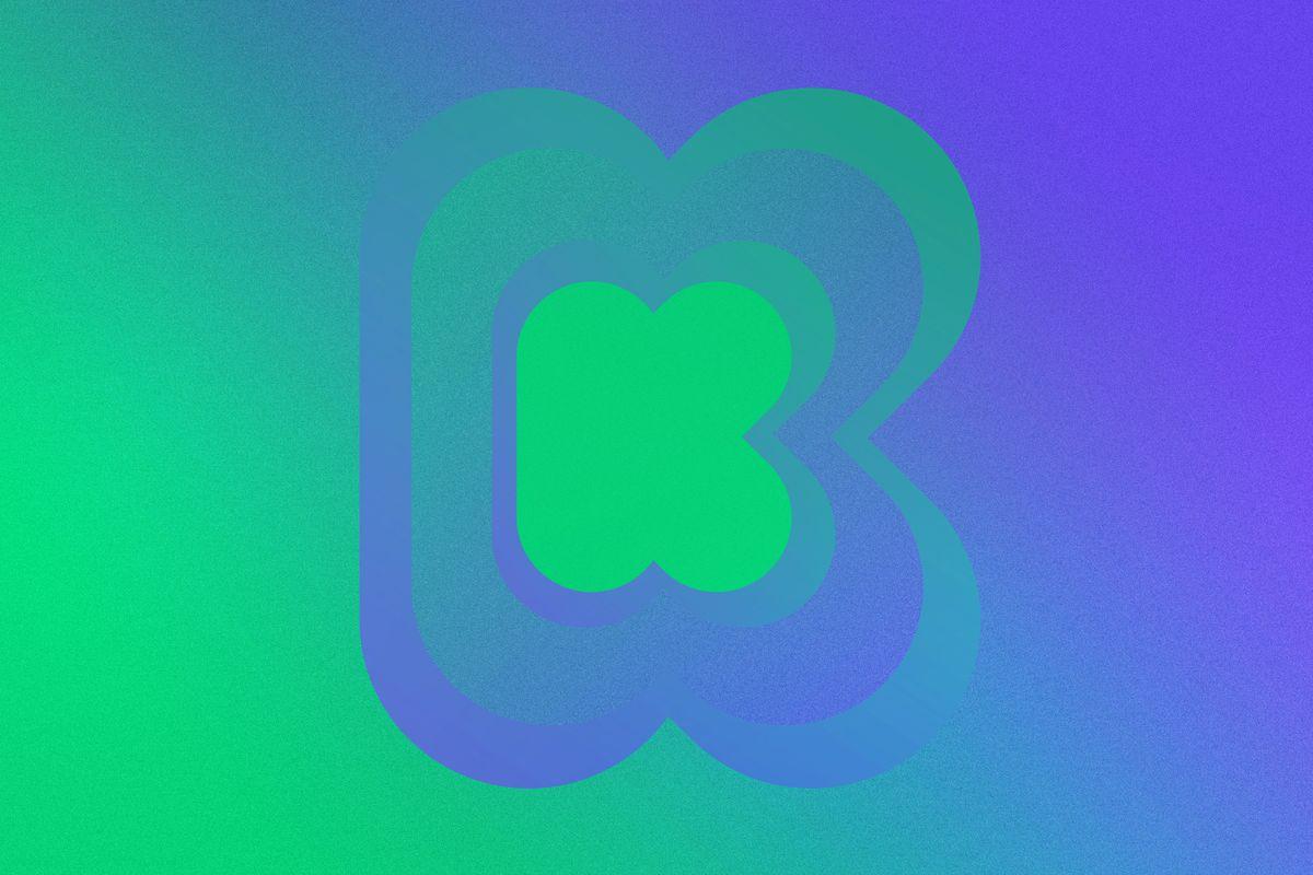 Graphic render of Kickstarter logo