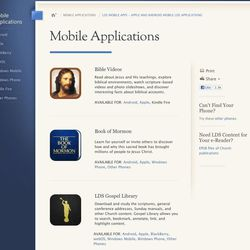 There are a number of options for interacting with scriptures with mobile devices on the Internet at lds.org.
