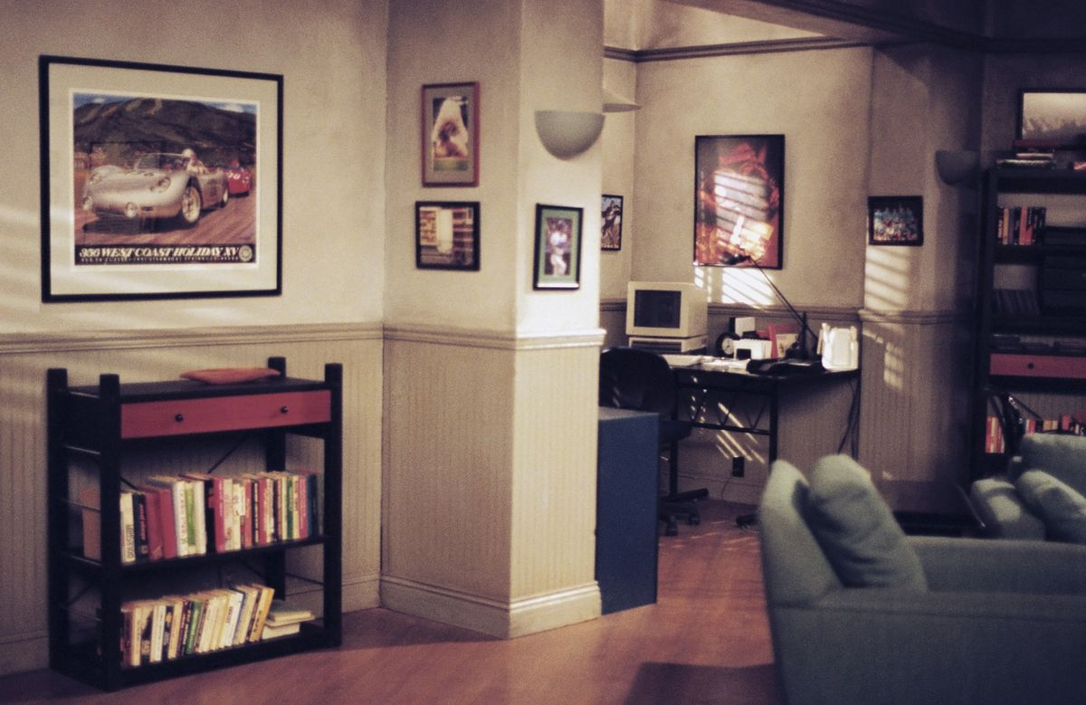 Jerry's apartment, as you've never seen it before.