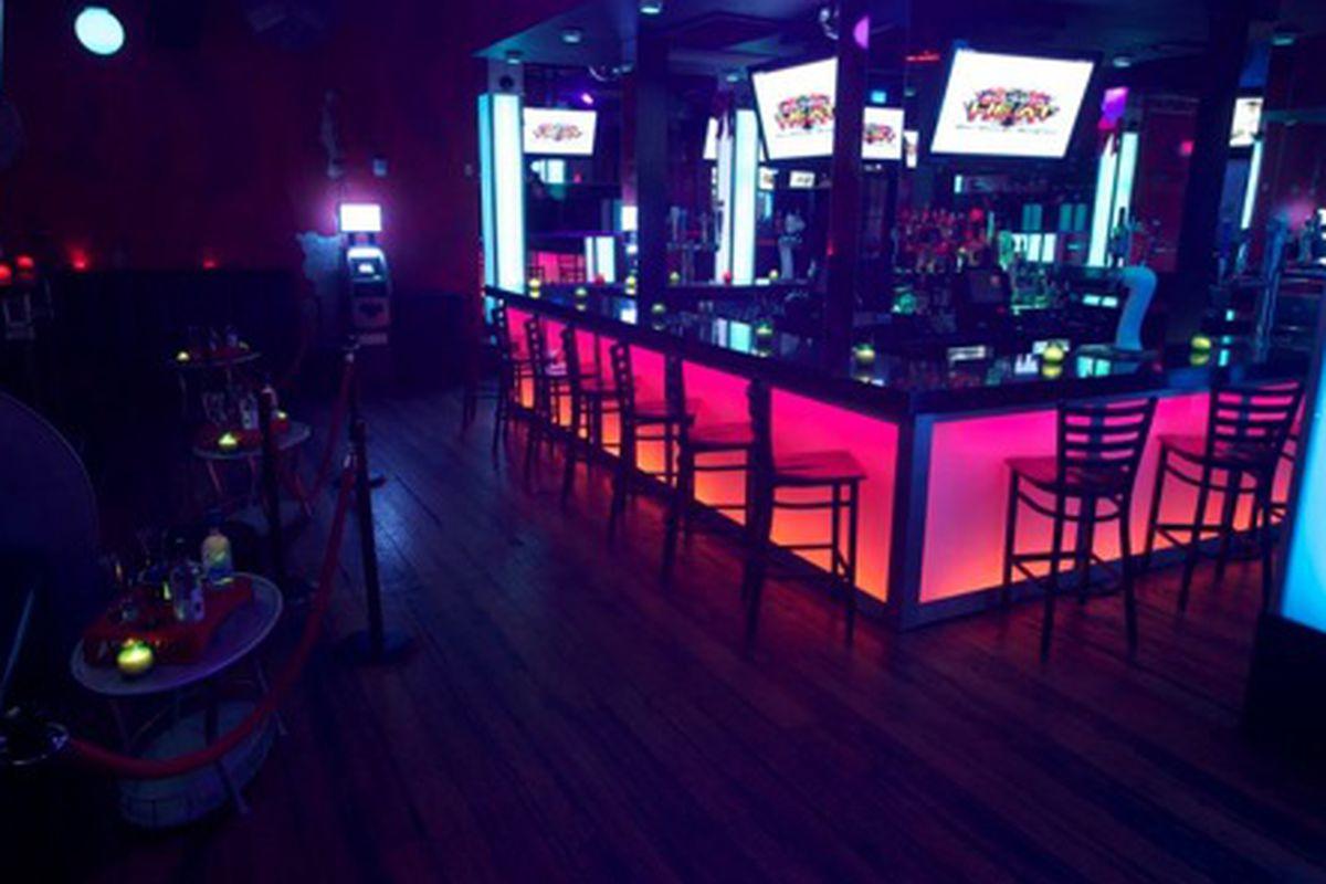 Inside Bourbon Heat.