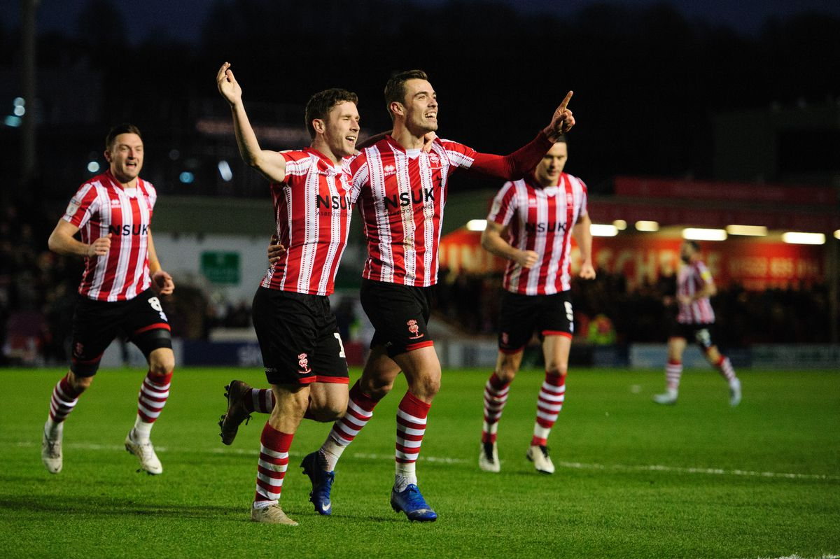 Lincoln City v Port Vale - Sky Bet League Two