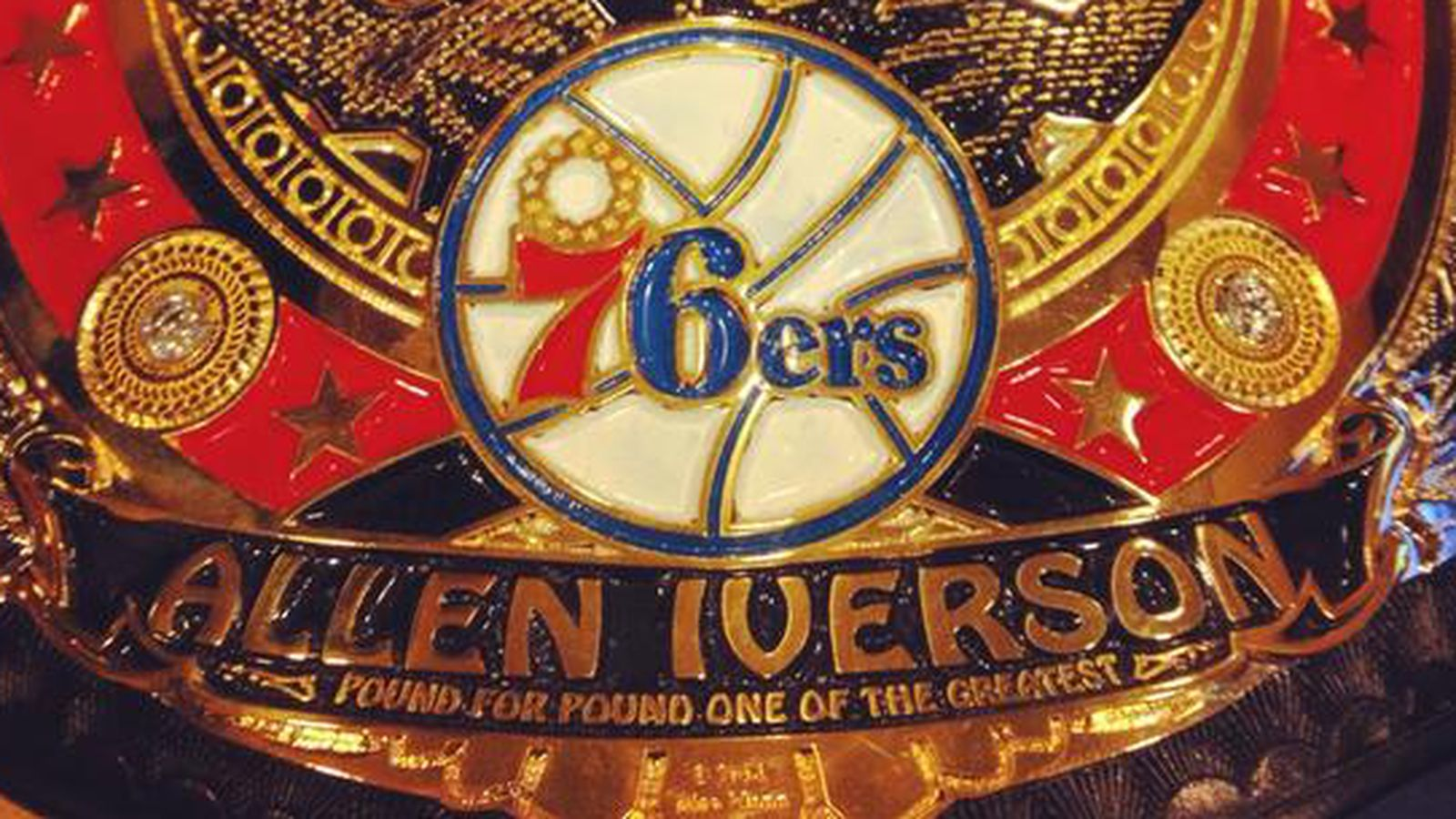Allen Iverson has his own championship belt - SBNation.com