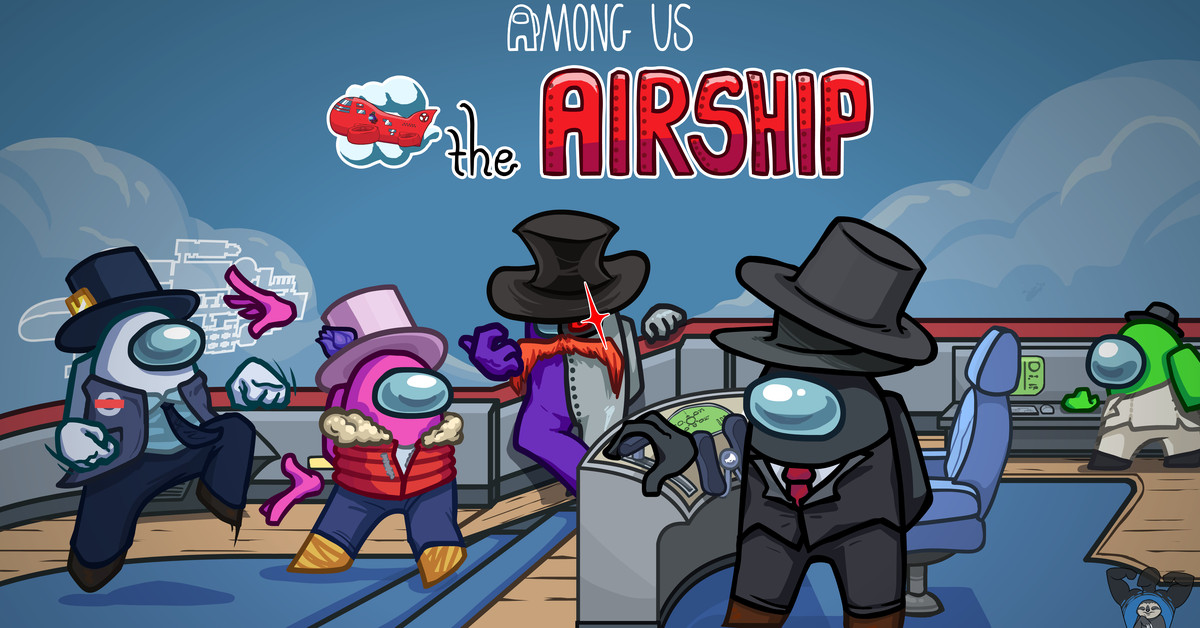Among Us' new Airship map launches on March 31st