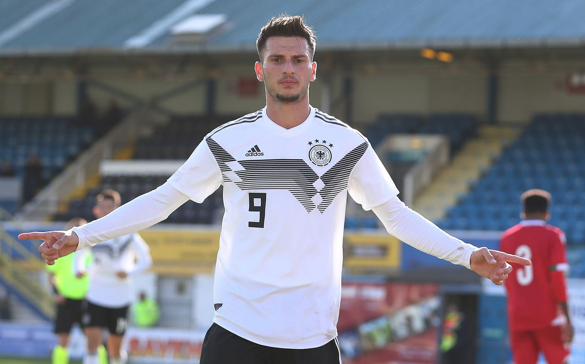 Belarus v Germany - UEFA Under 19 European Qualifier