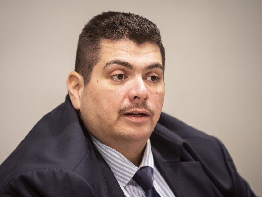 23rd Ward aldermanic candidate Paulino R. Villarreal Jr. met with the Sun-Times Editorial Board Friday, January 18, 2019. File Photo. | Rich Hein/Sun-Times