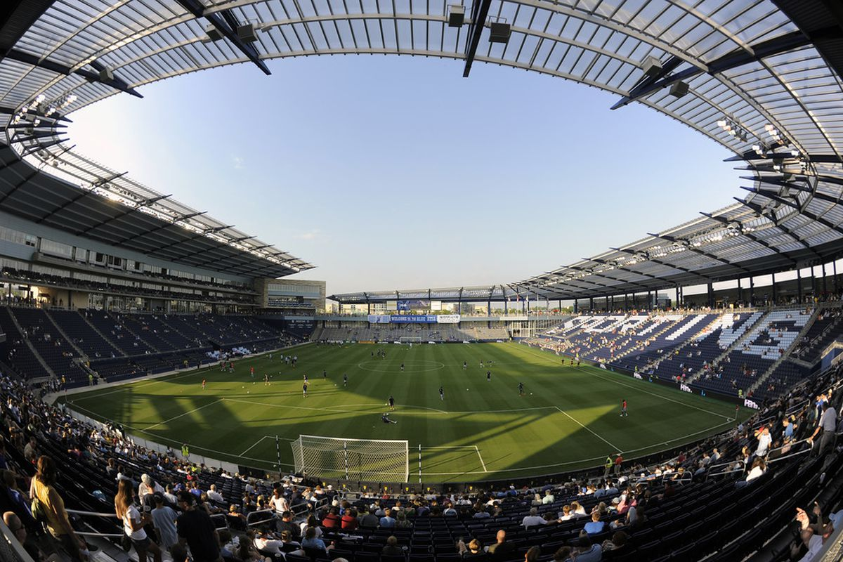 The Red Bulls make their first visit to Livestrong Sporting Park