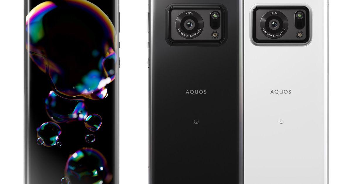 Sharp's new phone has a giant 1-inch camera sensor and Leica branding