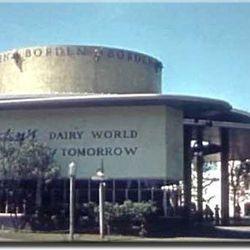 "Borden's Dairy World exhibition via <a href=""http://www.1939nyworldsfair.com/worlds_fair/wf_tour/zone-3/borden.htm"">1939 World's Fair</a>."