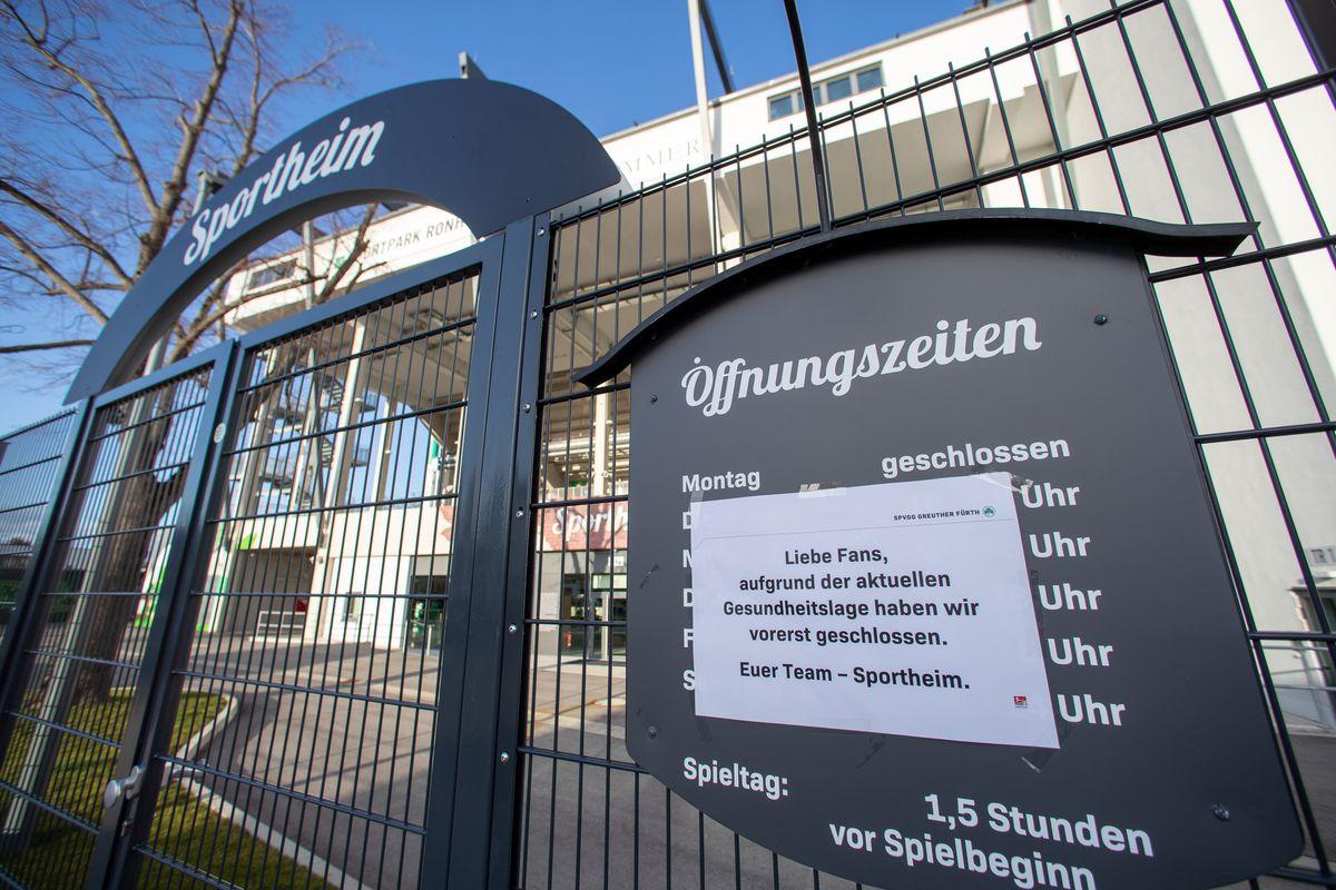 Coronavirus - Bundesliga match operation discontinued