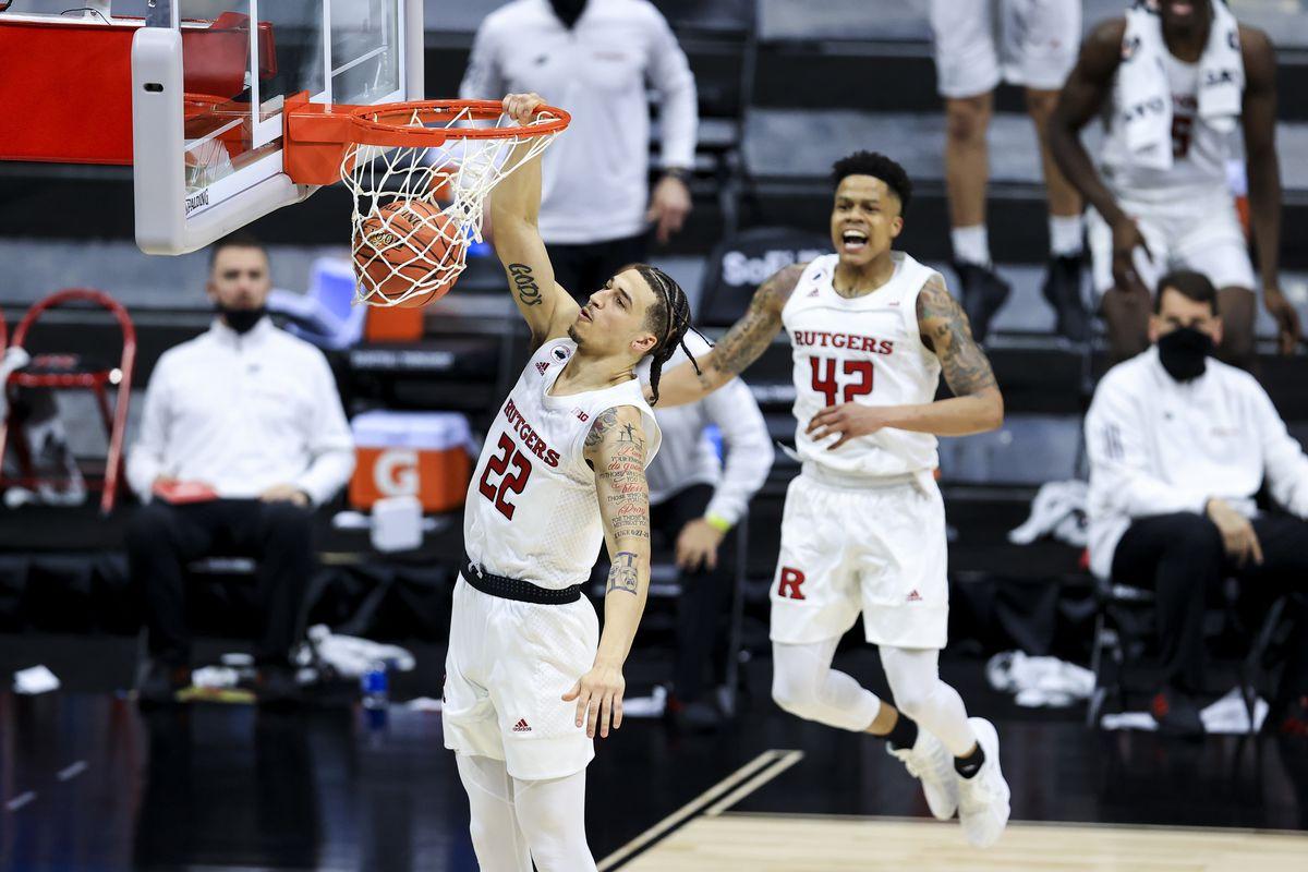 NCAA Basketball: Big Ten Conference Tournament-Rutgers vs Indiana