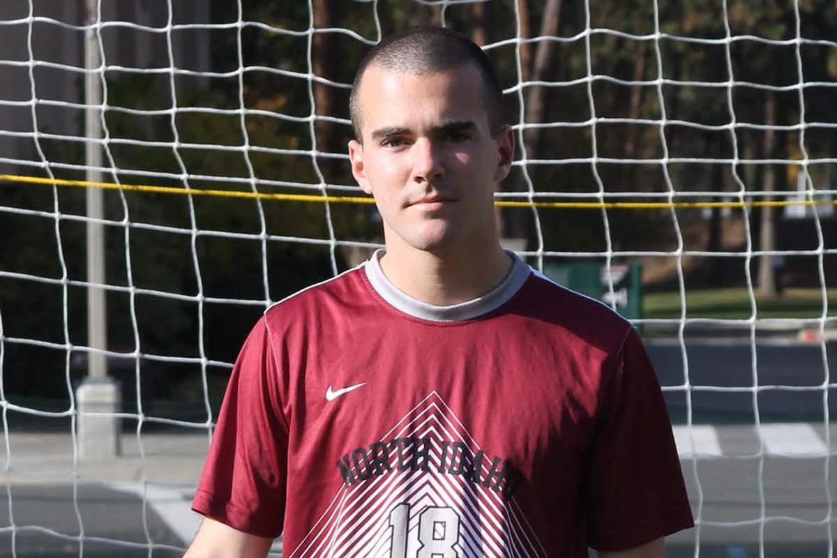 Macoy McLaughlin is a soccer player at North Idaho College.