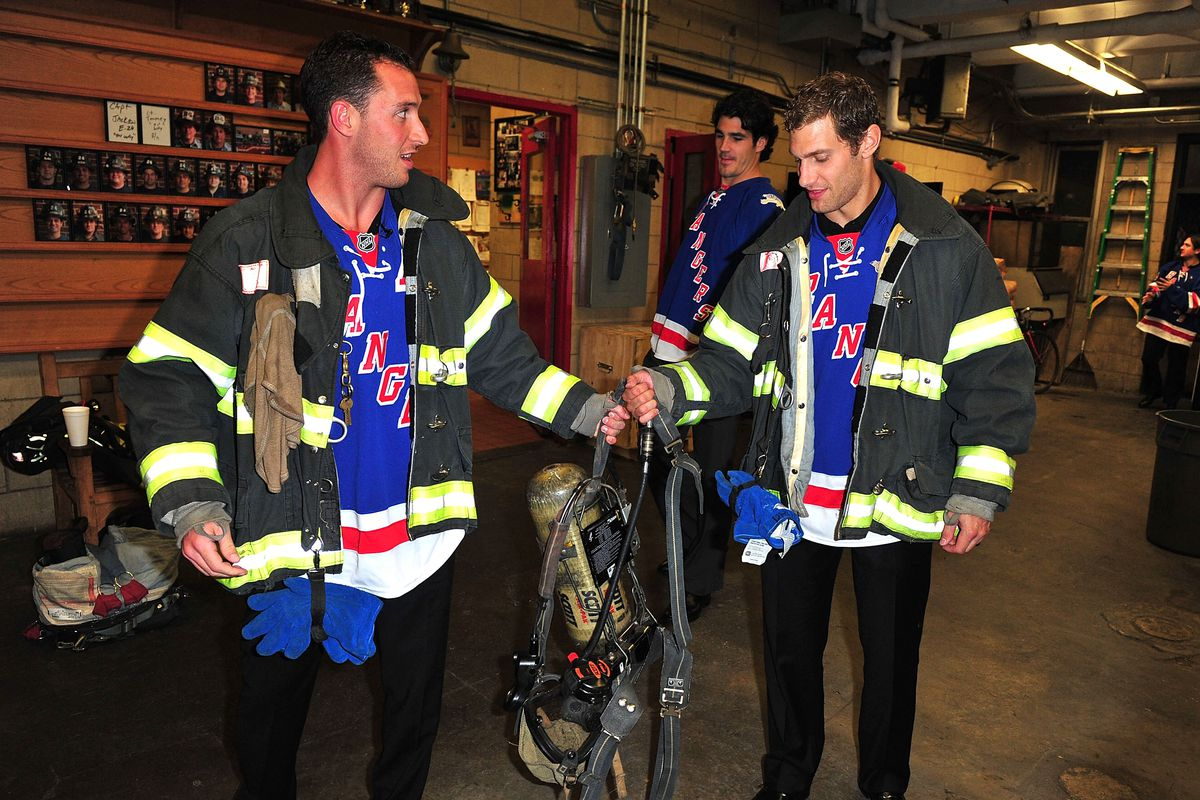 New York Rangers And Garden Of Dreams 9/11 Road Tour & Reception