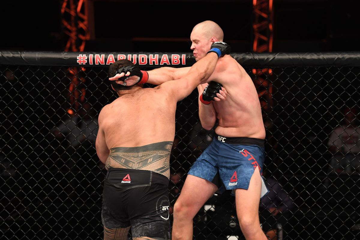 UFC 254 video: Tai Tuivasa crumbles Stefan Struve with last second knockout  in opening round - MMA Fighting