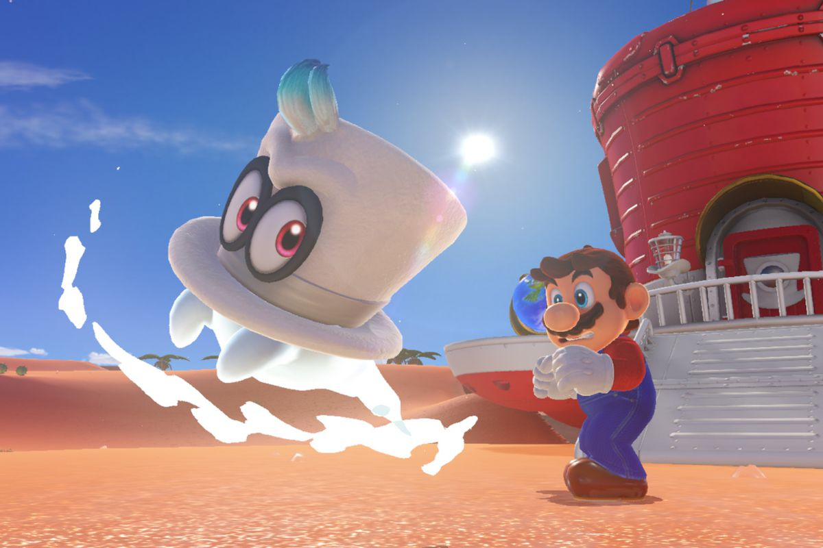 4f385b6e688 Super Mario Odyssey players are using Cappy as the best shortcut ...