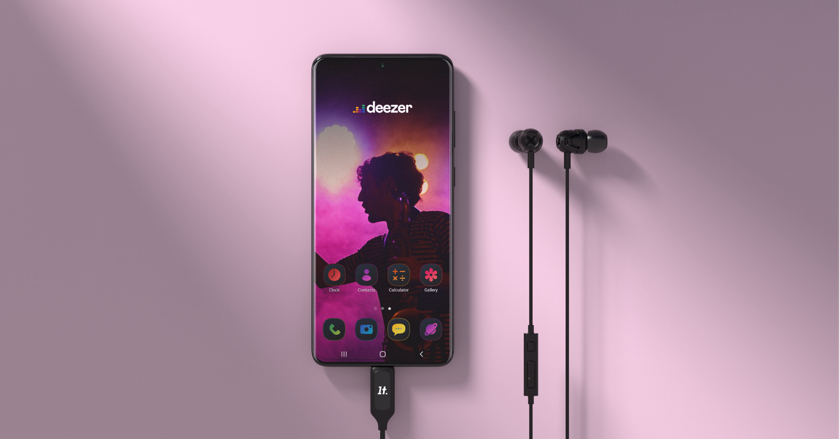 These USB-C earbuds are a trojan horse for Deezer