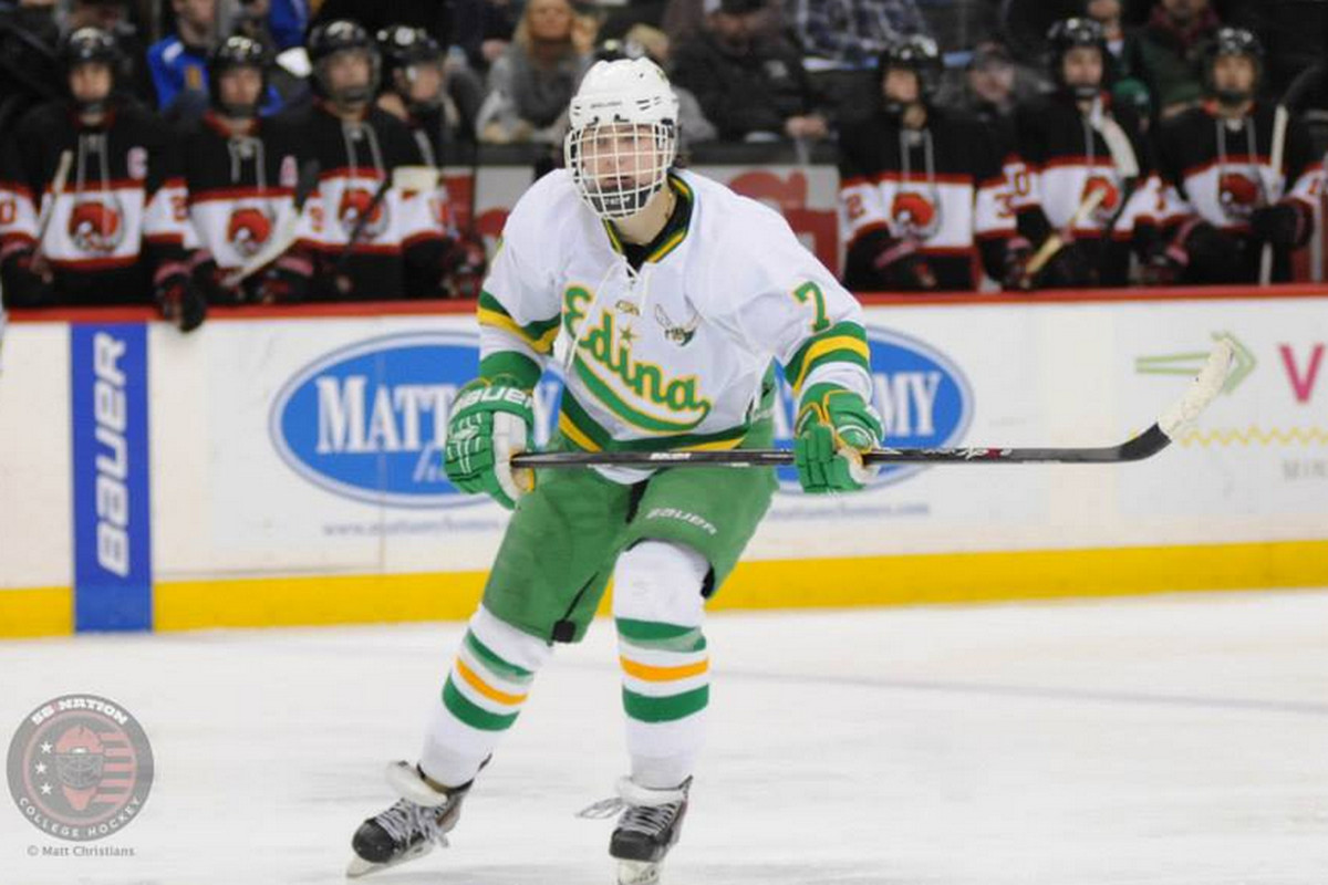 Kieffer Bellows was one of four 'A'-rated Boston University commits