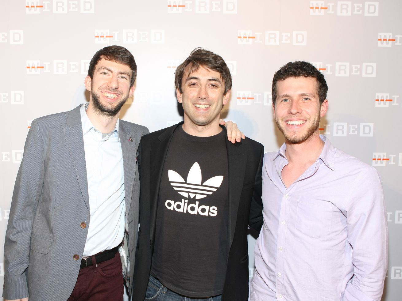Three of General Assembly's founders at a party in 2013.