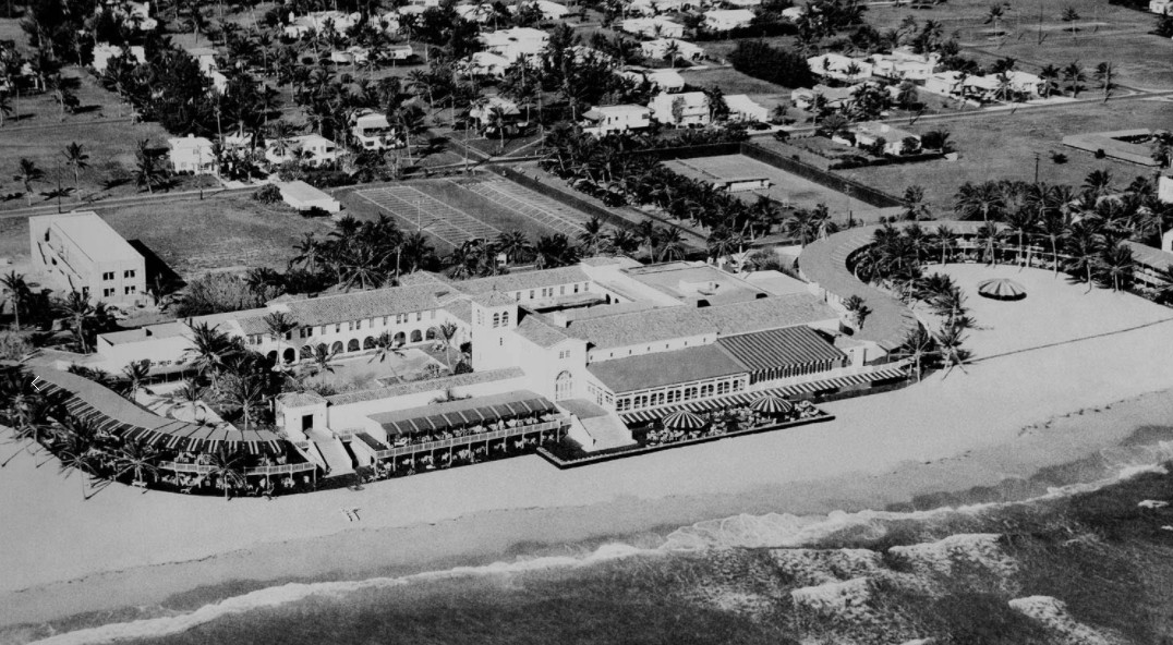 An undated photo of the old Surf Club.