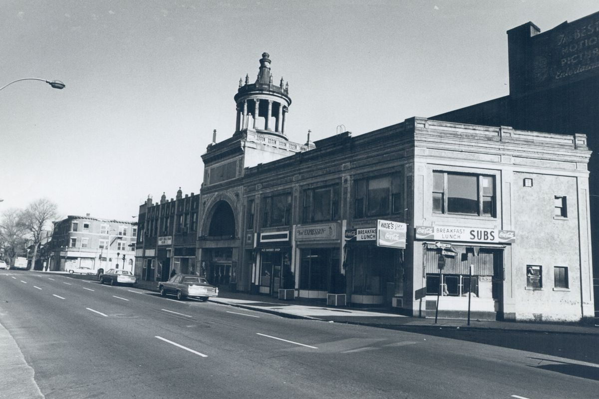 Blue Hill Avenue in the 1960s
