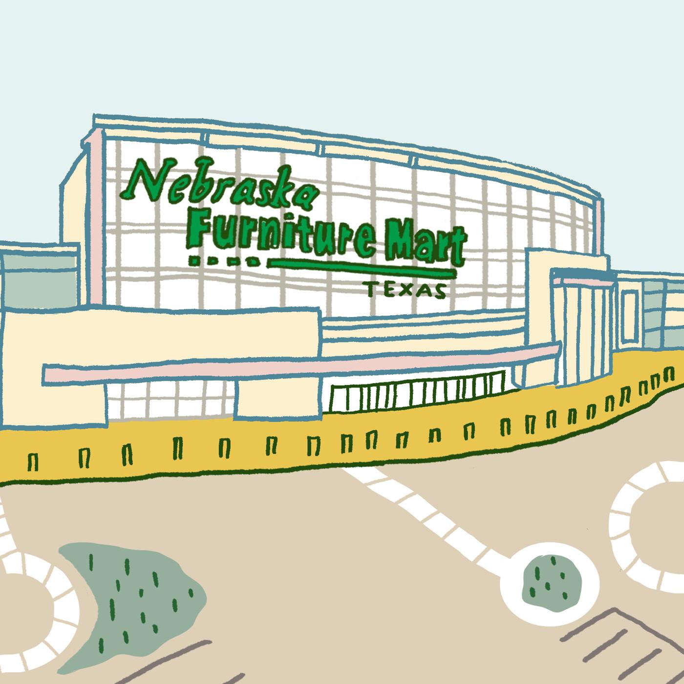 Inside nebraska furniture mart texass largest furniture store curbed