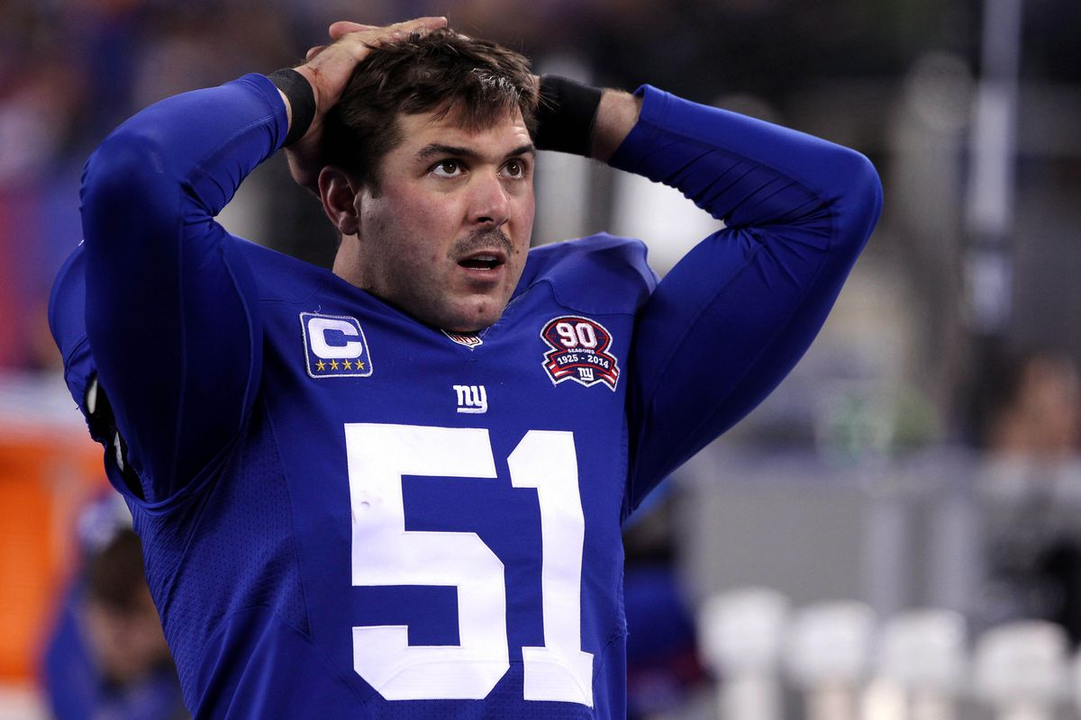 Zak DeOssie and Eli Manning are the last two players from the Super Bowl XLII team.