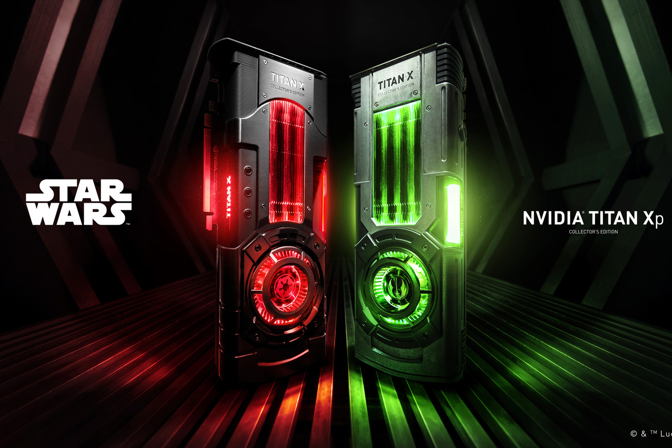nvidia has created powerful star wars graphics cards
