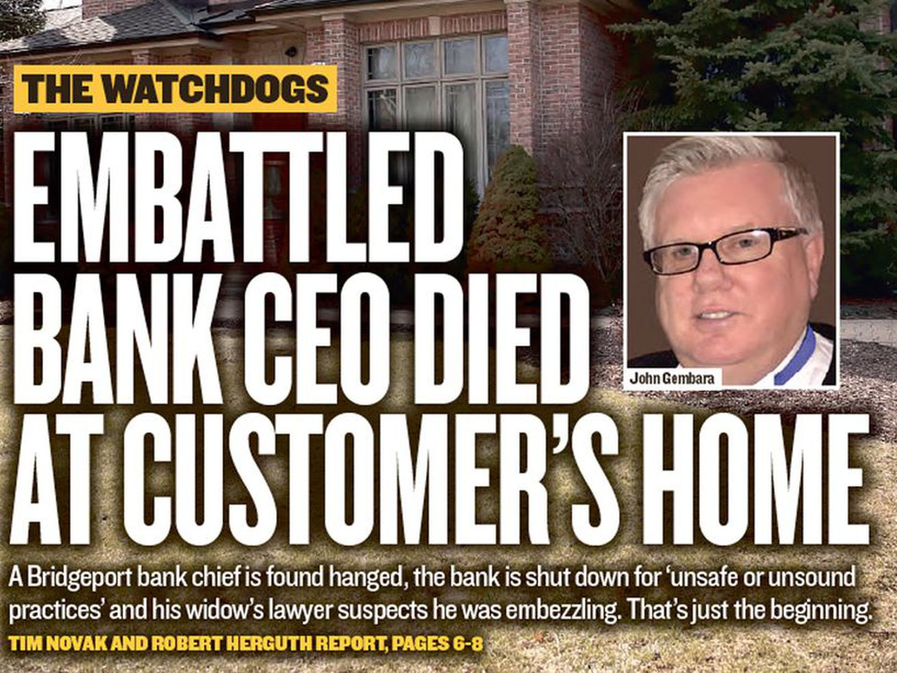 Feds charge owner of home where Bridgeport bank president died as massive fraud case expands