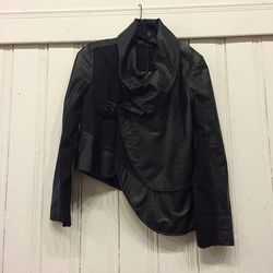 Nicholas K leather jacket, $360