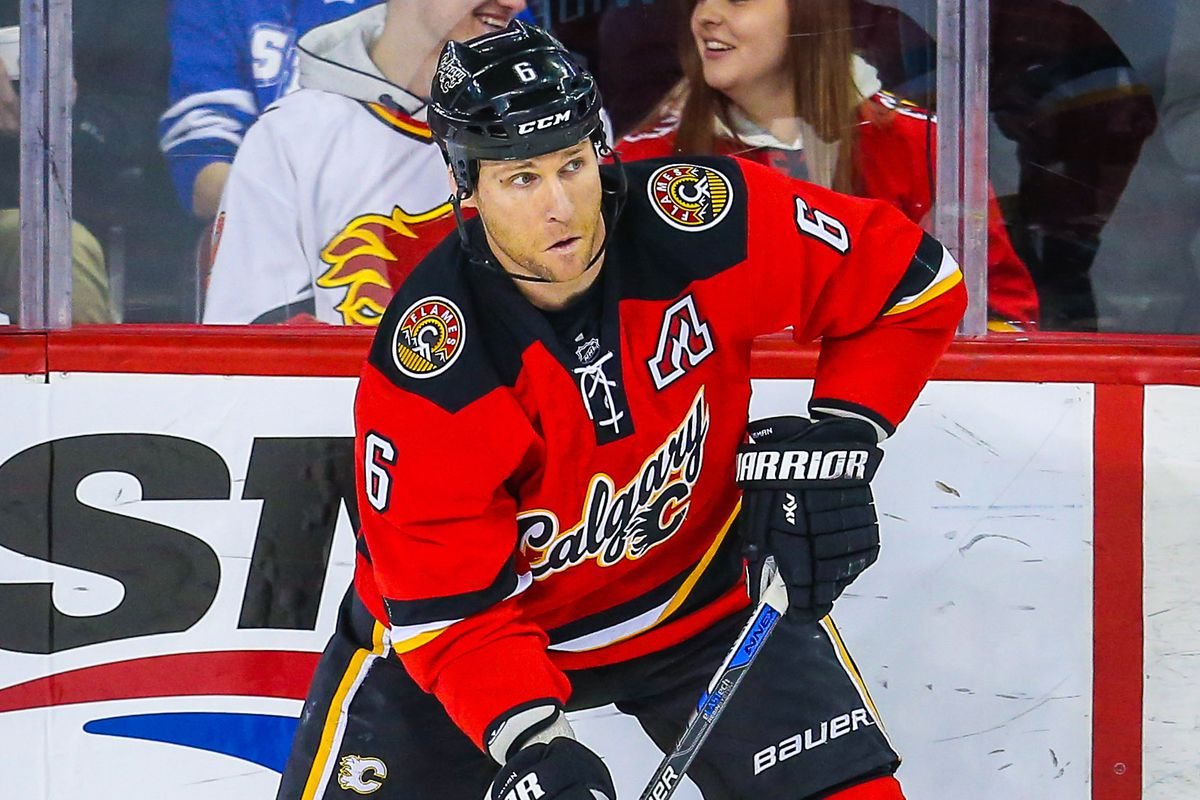 He has to go.  Can he fetch the Flames some value on the way out?