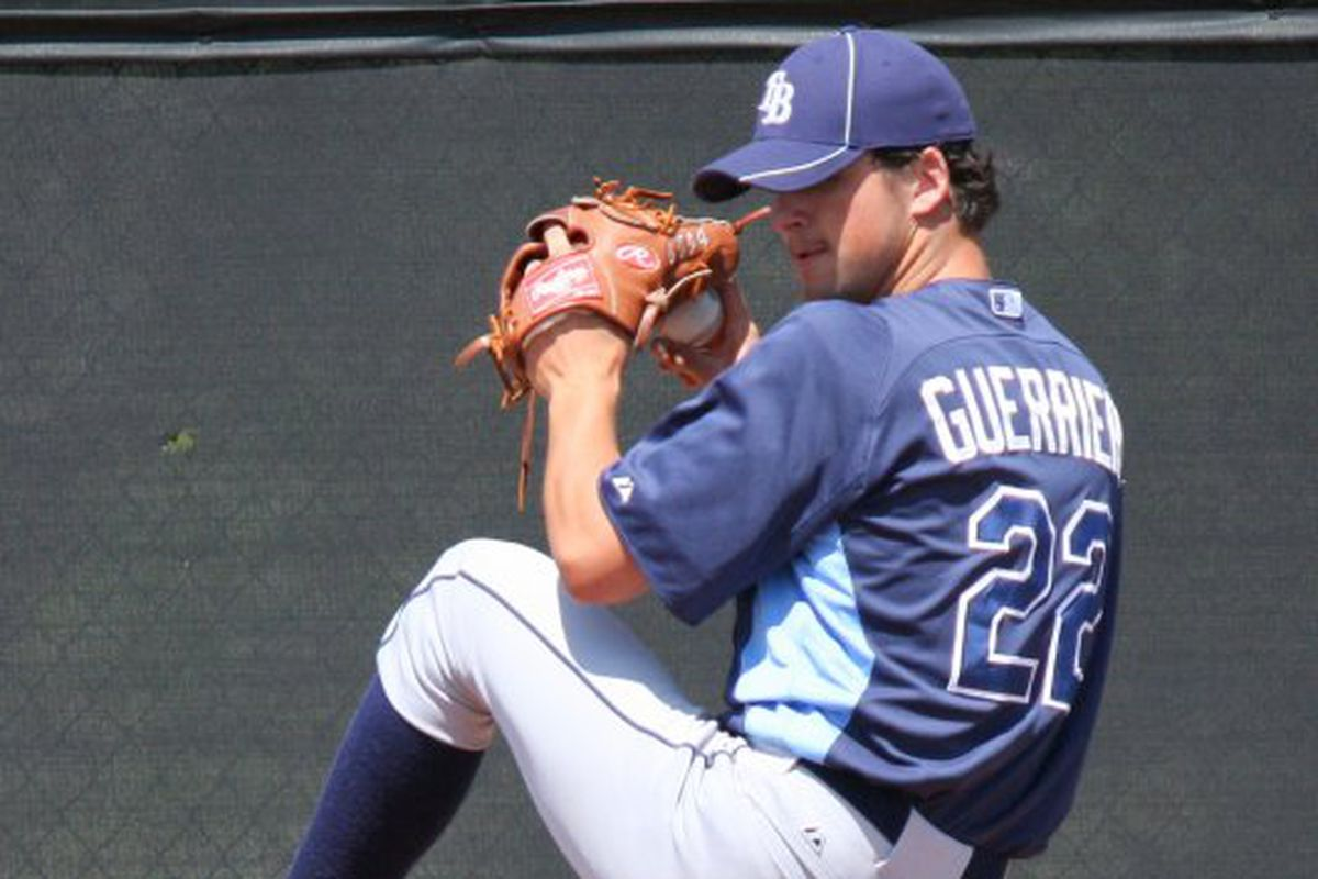Taylor Guerrieri is ranked the Rays top prospect.