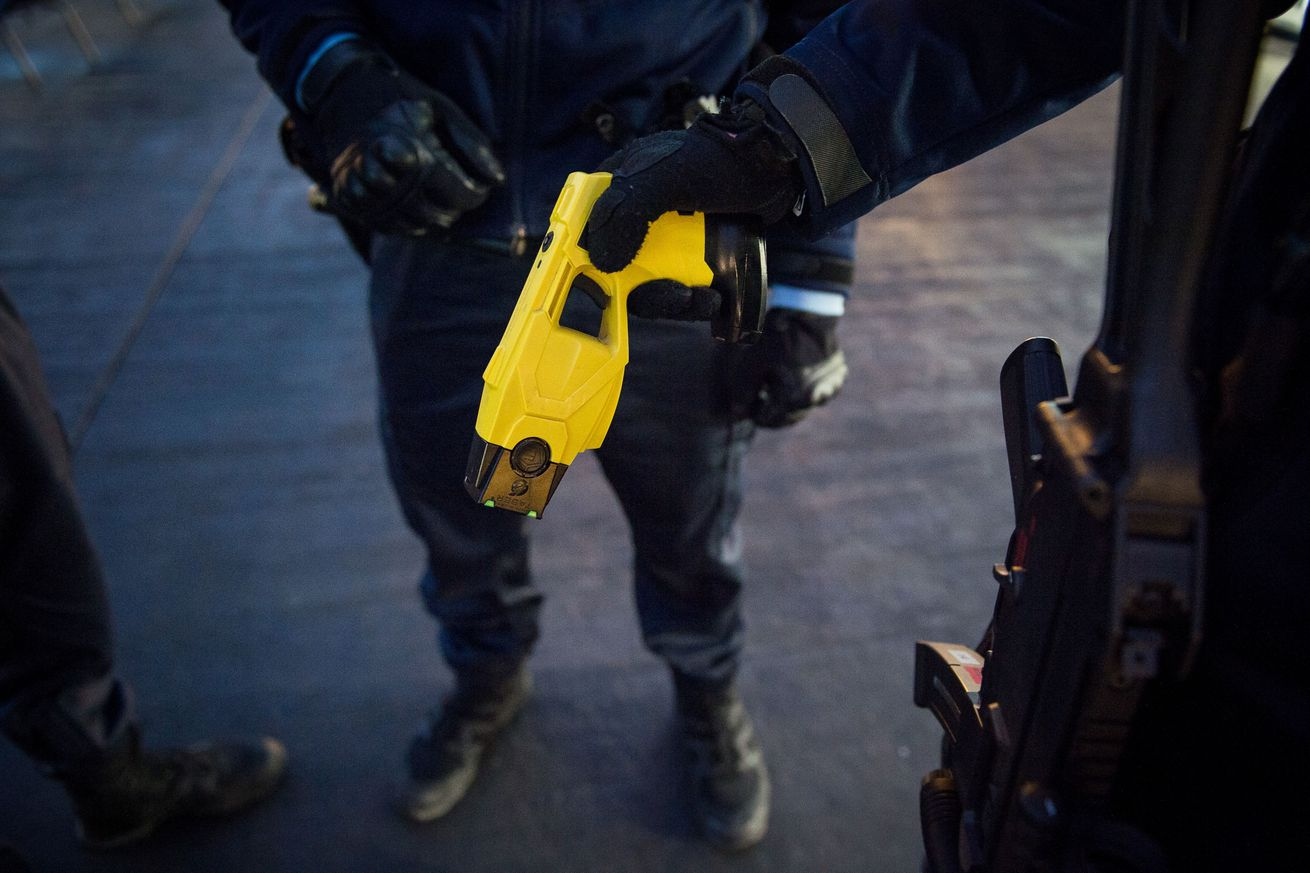 meet the company trying to break the taser monopoly