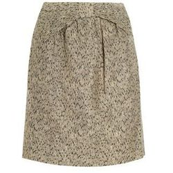 """<a href=""""http://www.net-a-porter.com/product/321894"""">Printed woven-twill skirt by <b>Vineet Bahl</b>,</a> $55.50 (was $185)"""