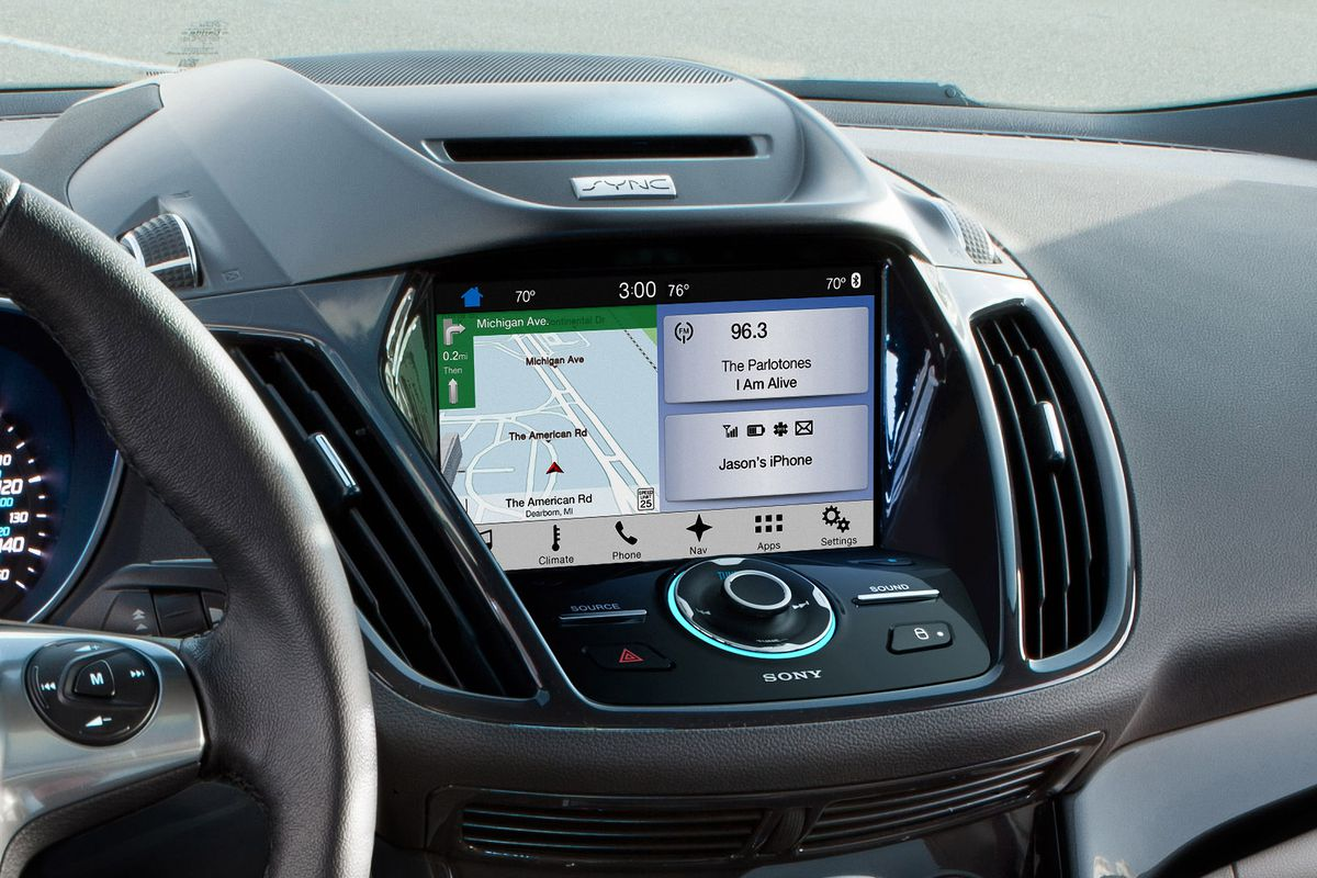 ford u0026 39 s sync 3 connected car platform debuts this summer
