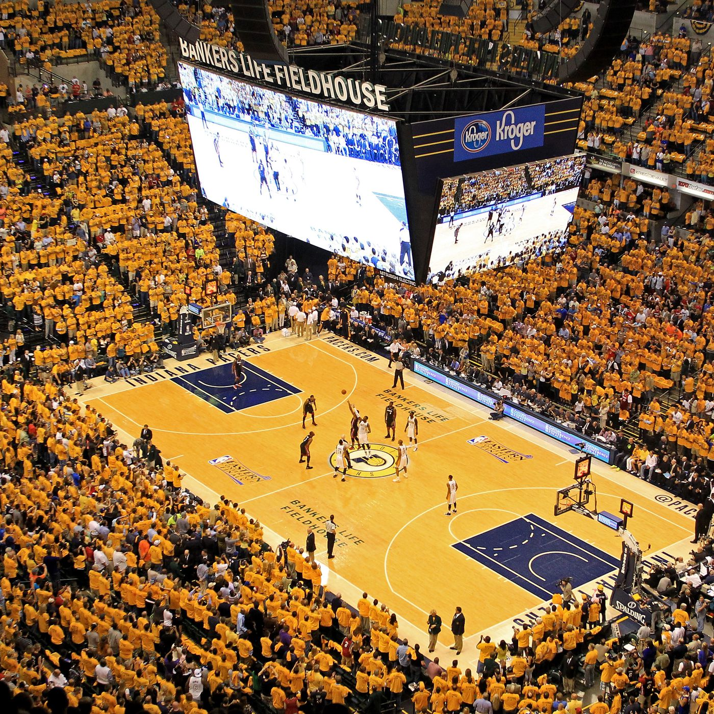 Music at Bankers Life Fieldhouse keeps Pacers rockin' at