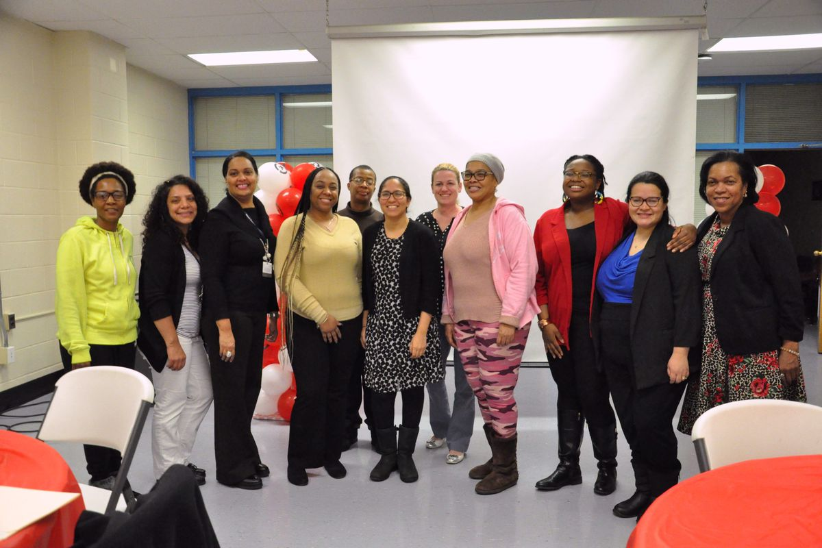 District officials, community members, and Newark parents gathered on Wednesday night at Spencer Miller Community School for the district's latest parent engagement meeting.
