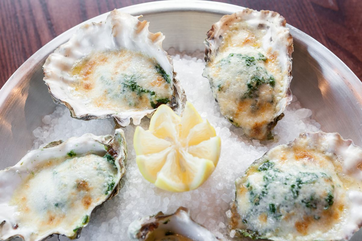The Bywater's Oysters Rock-a-fella.