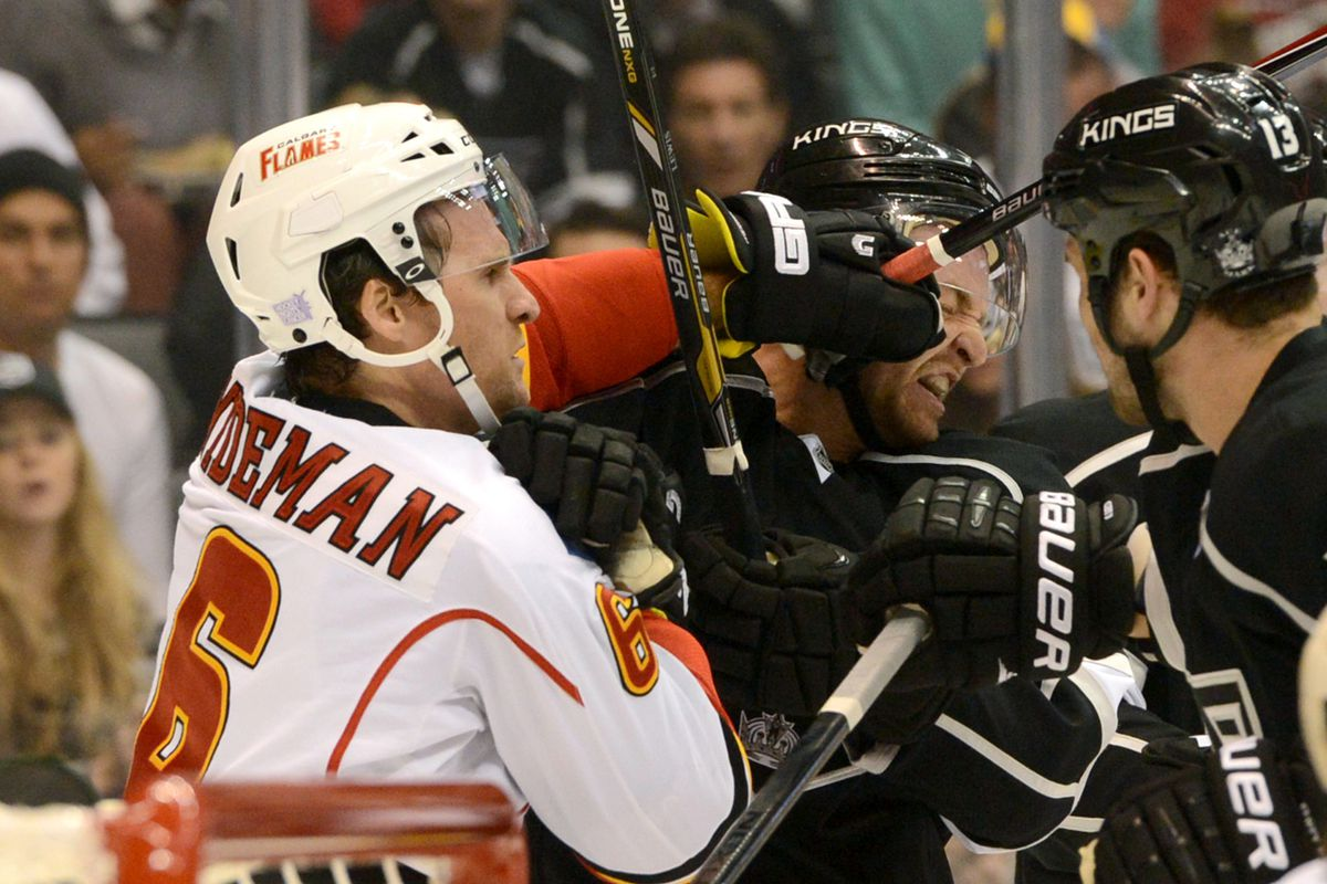 Wideman would later draw the game-winning power play. Bully.