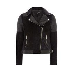 "<b>Dorothy Perkins</b>, <a href=""http://us.dorothyperkins.com/en/dpus/product/black-and-navy-leather-suede-biker-jacket-3386080?geoip=noredirect&cmpid=ppc_pla_US_ip&istCompanyId=404306cd-7ea0-4a44-b1fb-4a2adc945fd2&istItemId=iwxrwmqtp&istBid=tztx&gclid=CM"