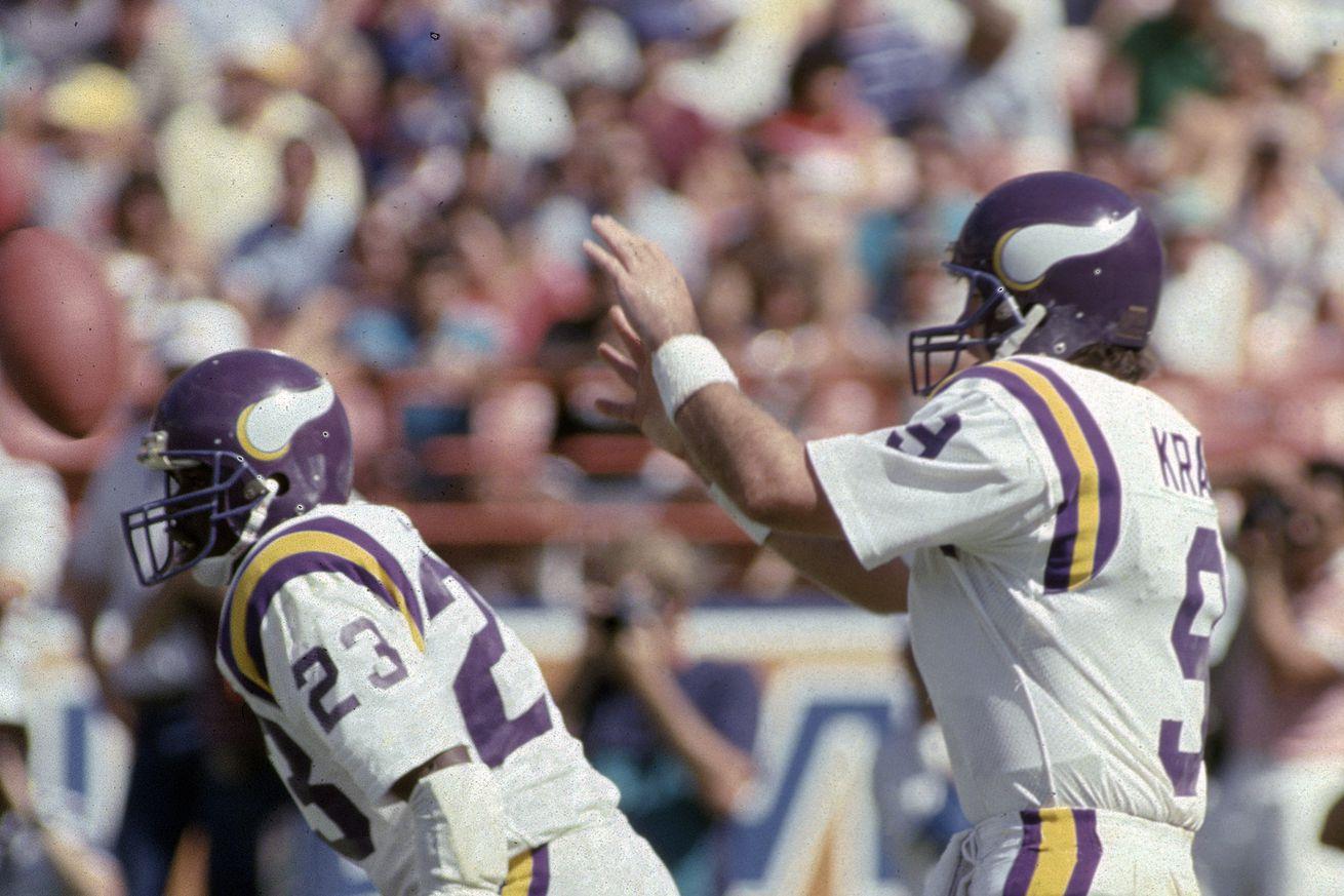 Tommy Kramer Rams vs Vikings